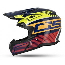 CASCO CROSS OSONE ARANCIO...