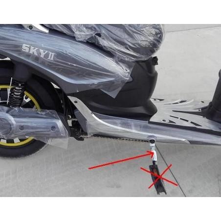 COPPIA PEDALI ESCLUSO POGGIAPIEDI - bici elettrica scooter ...